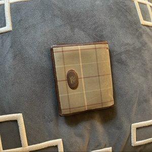 Vintage Burberry london bi fold men wallet